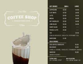 #30 para Create a menu for a coffee shop por sclamotion
