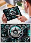 Bài tham dự #2 về Graphic Design cho cuộc thi Graphic for motorcycle dashboard