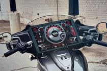 Bài tham dự #3 về Graphic Design cho cuộc thi Graphic for motorcycle dashboard