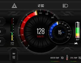 #21 cho Graphic for motorcycle dashboard bởi Watfa3D
