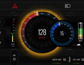 #22 cho Graphic for motorcycle dashboard bởi Watfa3D