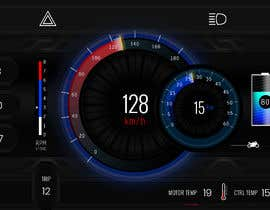 #23 cho Graphic for motorcycle dashboard bởi Watfa3D