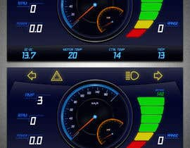 #35 cho Graphic for motorcycle dashboard bởi gradynelson