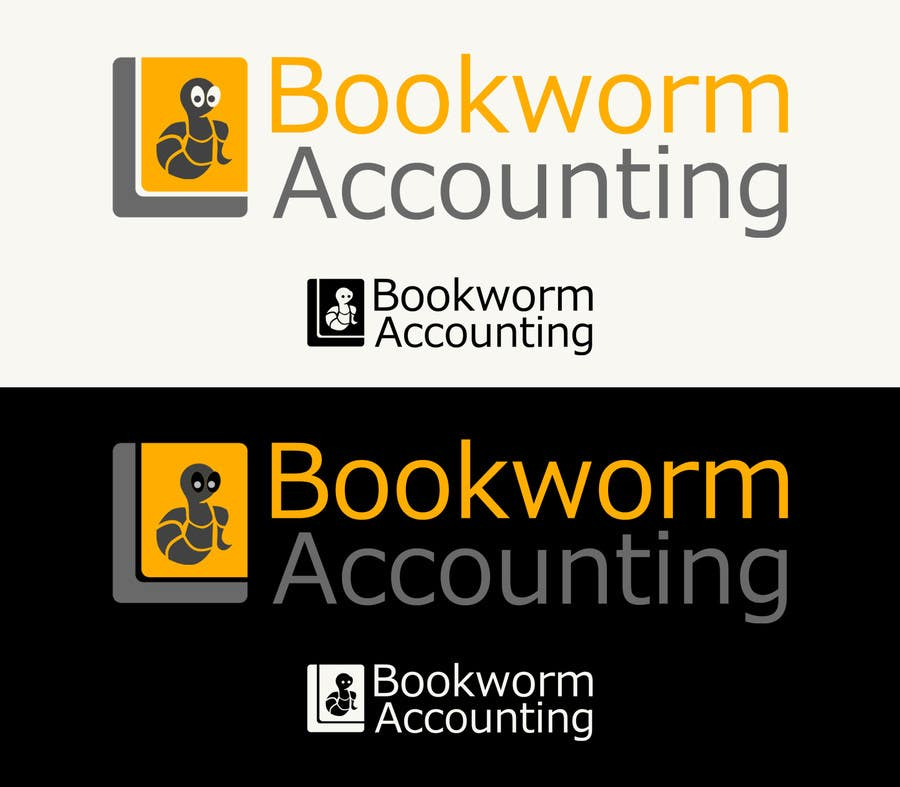 Contest Entry #                                        20                                      for                                         Logo Design for Bookworm Accounting