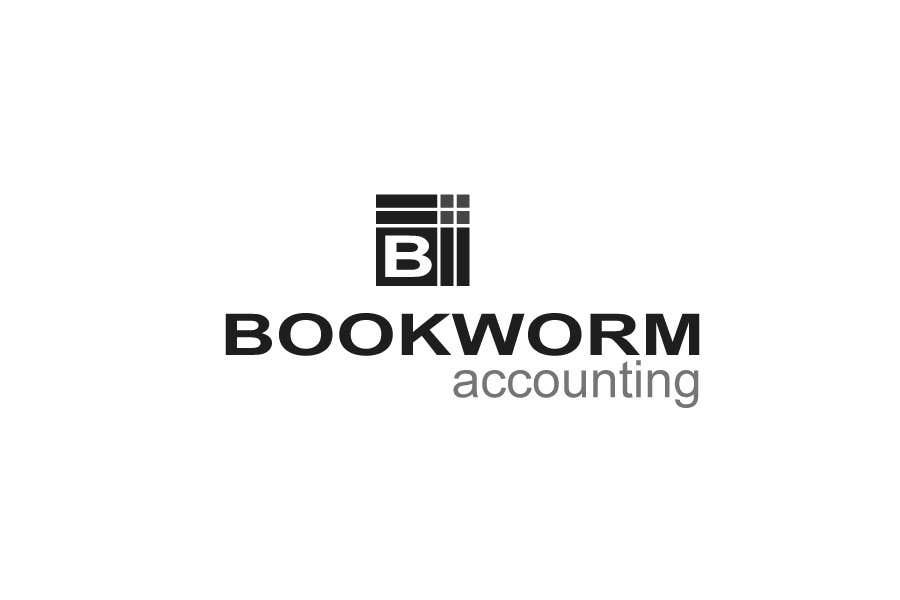 Penyertaan Peraduan #1 untuk Logo Design for Bookworm Accounting