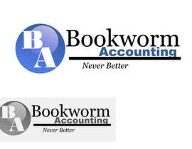 #12 for Logo Design for Bookworm Accounting af AliJaaphar