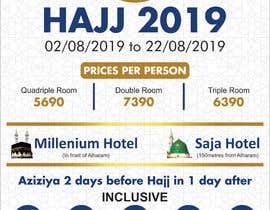 Nro 37 kilpailuun New Flyer Hajj 2019 (Belgium) käyttäjältä FarooqGraphics