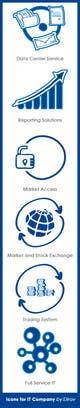 Miniatura da Inscrição nº 7 do Concurso para 6 Icons for IT Company