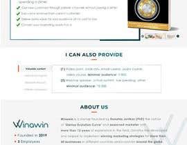 Nro 99 kilpailuun Unique website design with great UX käyttäjältä SaifulSk