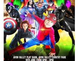nº 76 pour Create a superhero theme birthday invite par gerardolamus