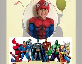 nº 74 pour Create a superhero theme birthday invite par legalpalava