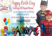 Proposition n° 71 du concours Graphic Design pour Create a superhero theme birthday invite