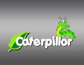 #31 untuk Create a cute caterpillar as the mascot logo for School accessories business oleh Dreamcatcher321