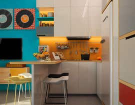 #93 for INTERIOR DESIGN of an apartment, 29 m2 at the edge of the sea. by nguyenkhai1307