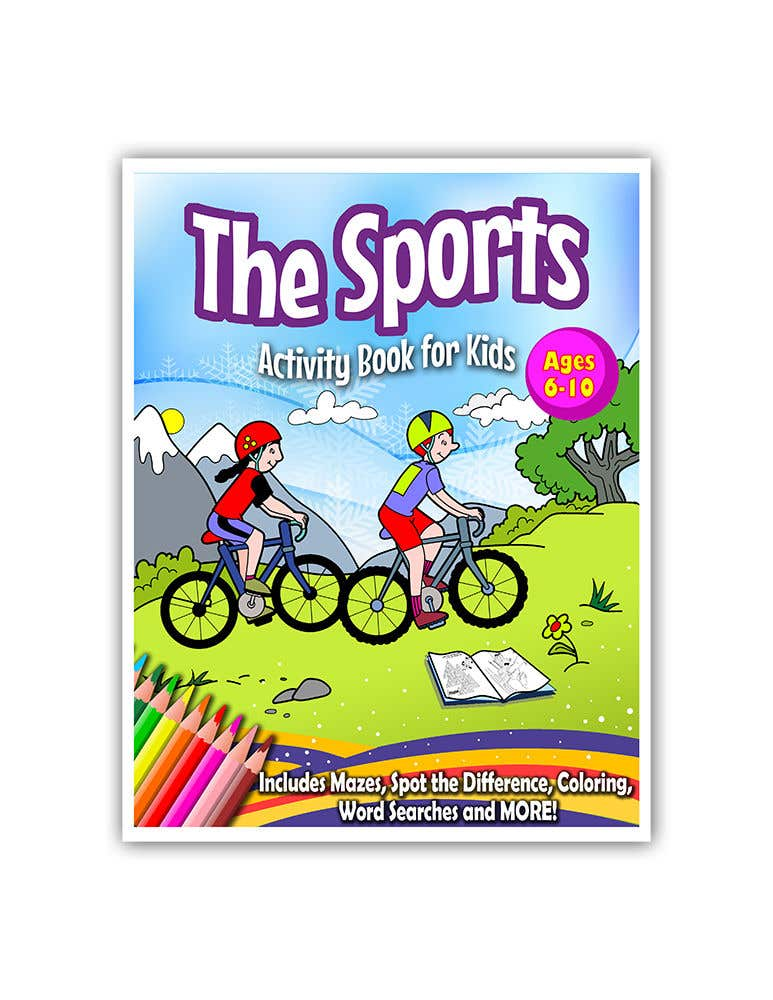 Penyertaan Peraduan #24 untuk Sports Activity Book Cover (6-10)