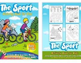 #23 untuk Sports Activity Book Cover (6-10) oleh nubelo_KWkEGS0j