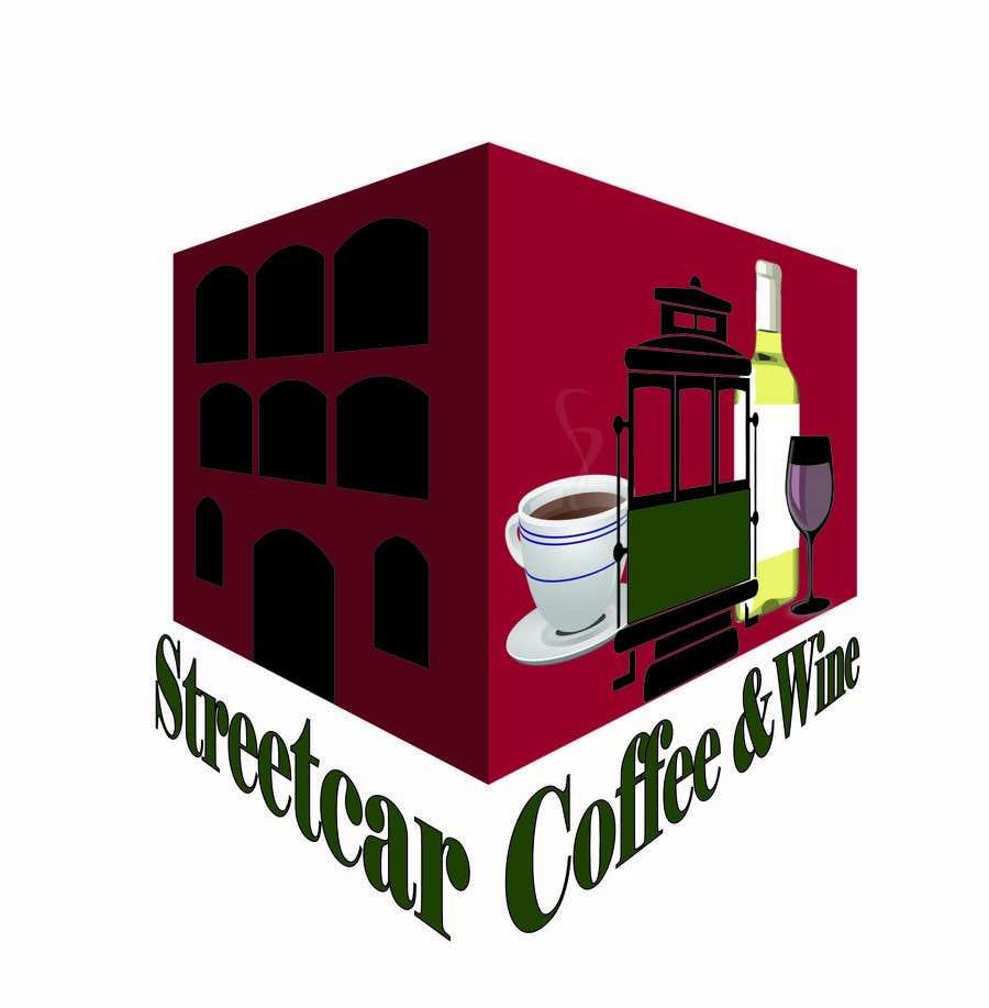 Конкурсная заявка №79 для StreetCar Coffee & Wine, Logo Design