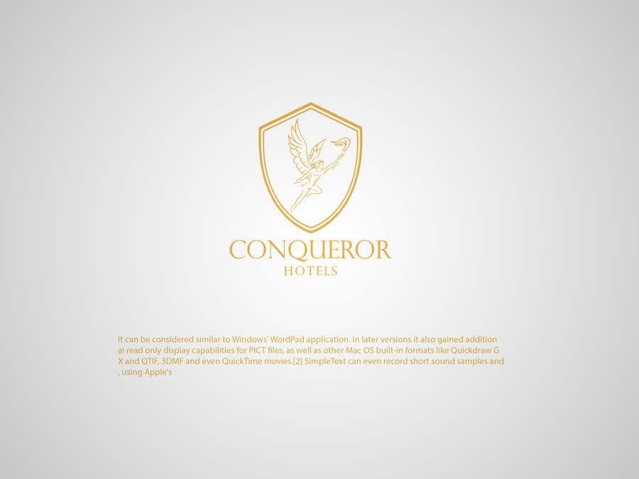 Kilpailutyö #484 kilpailussa Conqueror Hotels - Logo Design