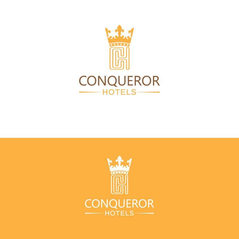 Kilpailutyö #158 kilpailussa Conqueror Hotels - Logo Design