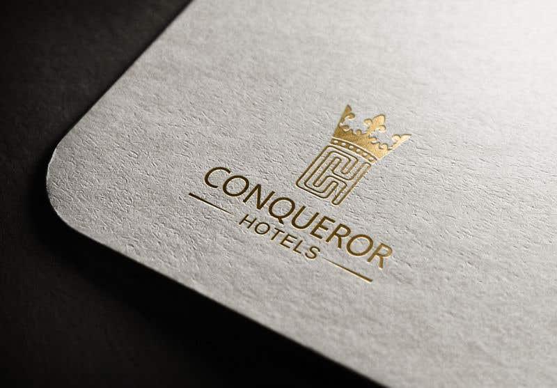Kilpailutyö #159 kilpailussa Conqueror Hotels - Logo Design