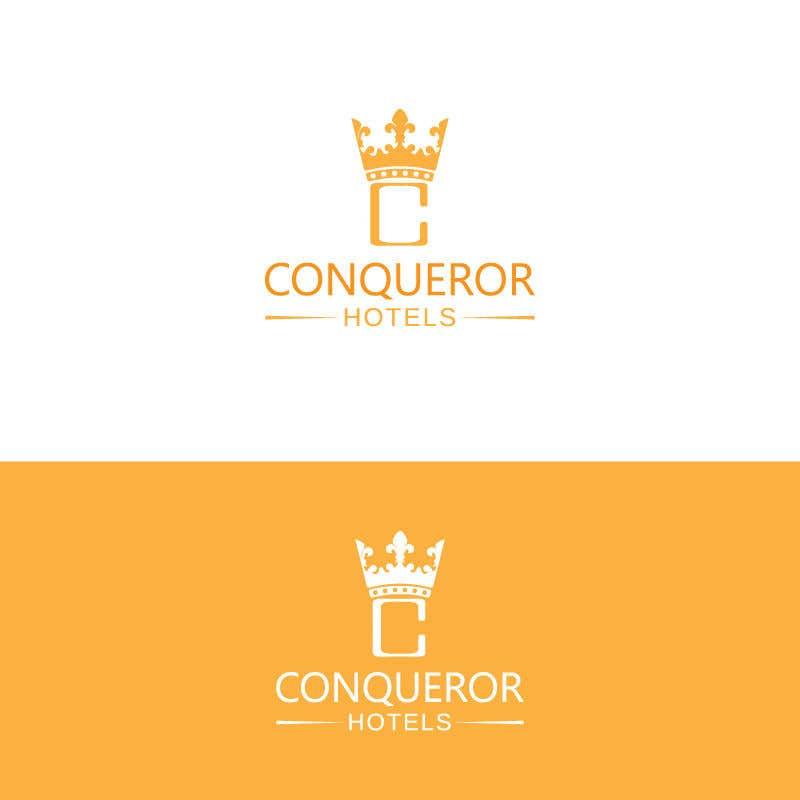 Kilpailutyö #260 kilpailussa Conqueror Hotels - Logo Design