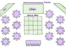 #30 untuk Hand drawn seating plan (multiple winners!) oleh orlovaart