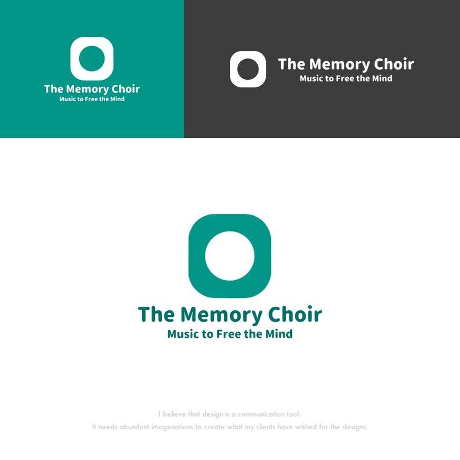 Bài tham dự cuộc thi #34 cho I need a logo for a choir called The Memory Choir with a strap line 'Music to Free the Mind'