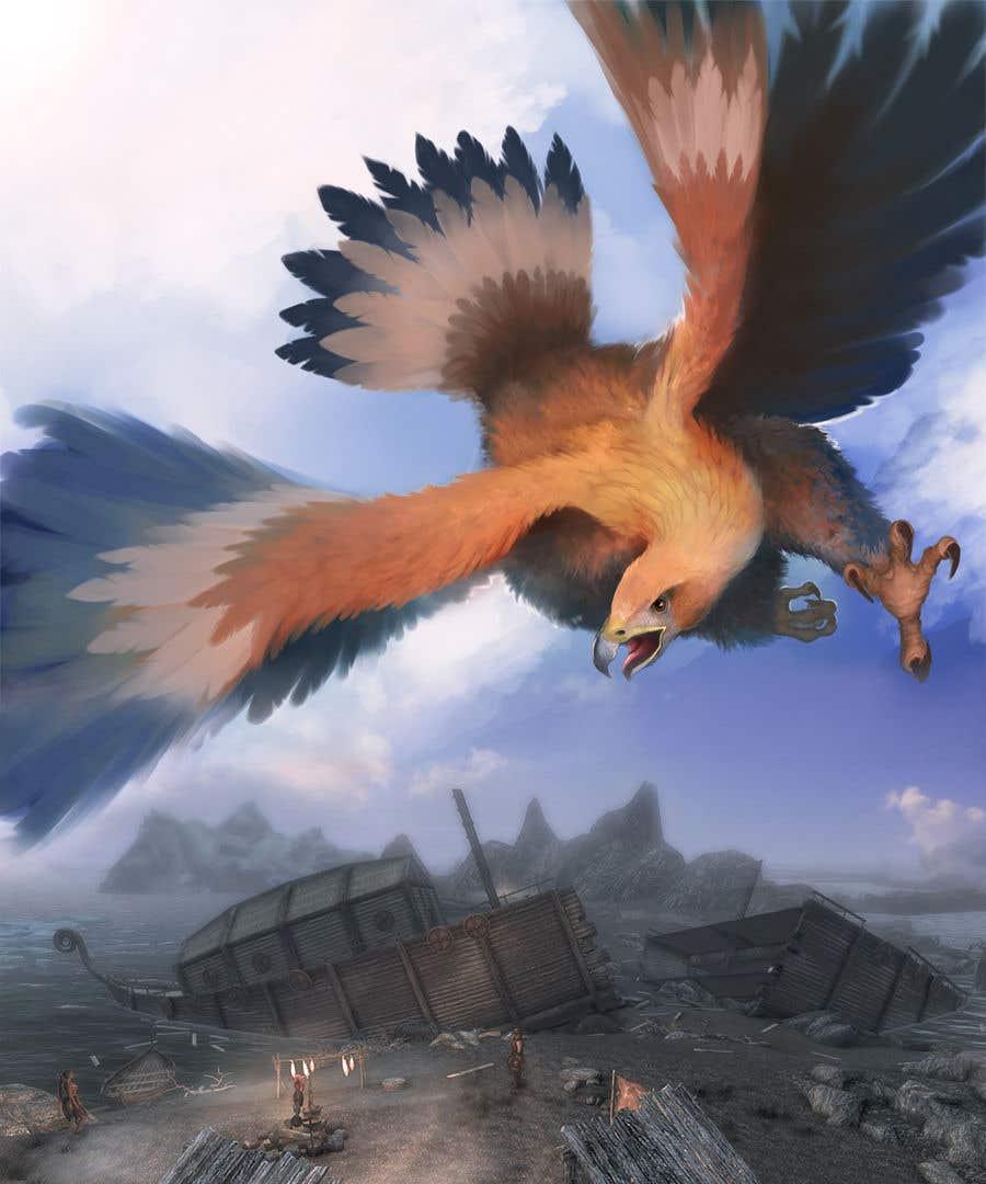 Contest Entry #39 for Mythological Roc Eagle