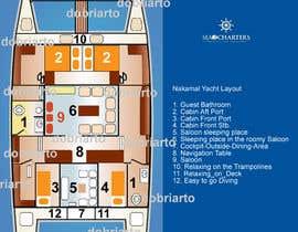 Nro 5 kilpailuun Yacht Layout design käyttäjältä letindorko2