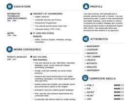 #5 cho Design Resumes Templates bởi imransheikh95