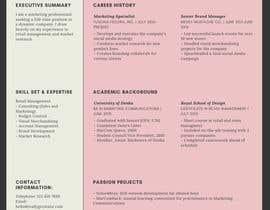#2 cho Design Resumes Templates bởi fitrahamira95