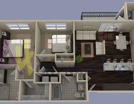 #41 para Floor PLan Lockwood Villas por A4animation