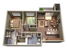 #35 para Floor PLan Lockwood Villas por taymouthchippy