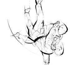 #52 for Create illustration of judo throw using a particular style af digi2paint