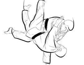 #21 for Create illustration of judo throw using a particular style af KabbiG