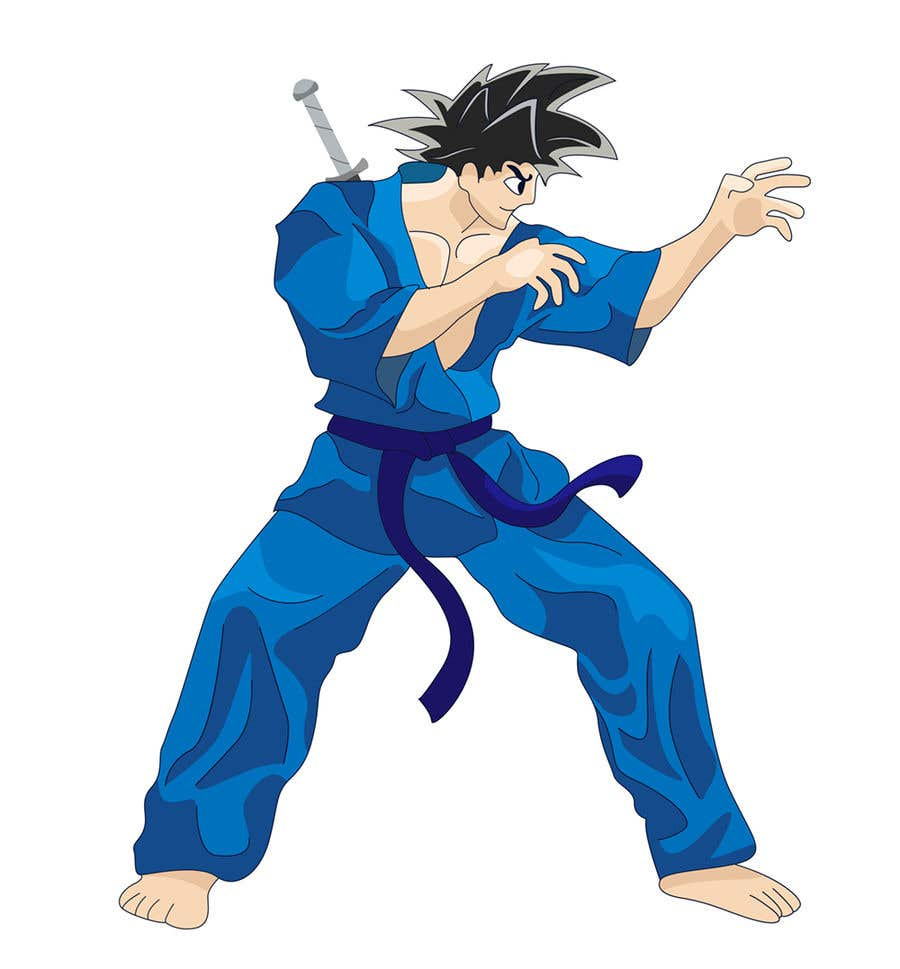 Martial Artist Character Design