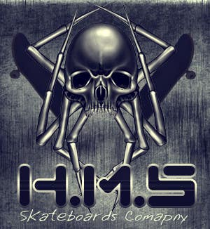 #1 for Logo Design for my skateboard company HMS. by DesignSkilloz