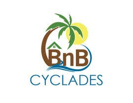 """#25 для I need a logo for my site and for my professional cards etc. The company name is """"CycladesBnB"""" and it refers on cyclades (islands on the Greek Aegean sea). Our business are to rent houses through platforms to tourists and some other services like """"car ren от arvtmaria"""
