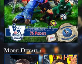 #51 for Premierleague Fantasy Football Poster for the wall by reyesonline