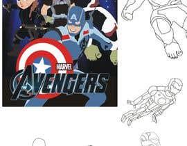 #28 для Create a Pokemon x Avengers Mashup Movie Poster от mindlogicsmdu