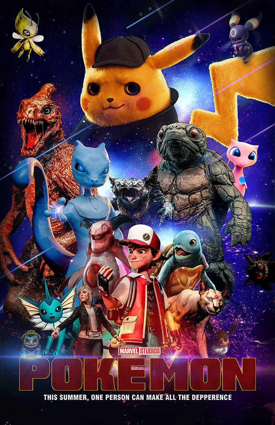 Entry #22 by satishandsurabhi for Create a Pokemon x