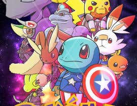 #19 для Create a Pokemon x Avengers Mashup Movie Poster от zaphiere
