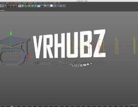 nº 263 pour Create a logo sting for VRHUBZ par arrecife1969