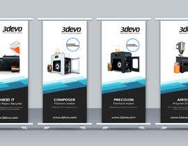 #70 untuk 4 Roll-up Product Banners for Expo (85 x 205 cm) oleh asik10