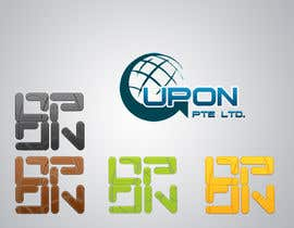 #14 untuk Logo/name card/letter head Design for UPON.SG oleh DesignSkilloz