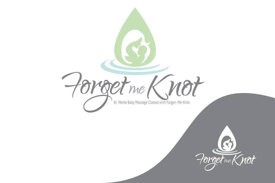 Konkurrenceindlæg #                                        11                                      for                                         Logo Design for a Baby Massage Instructor who goes to parents homes