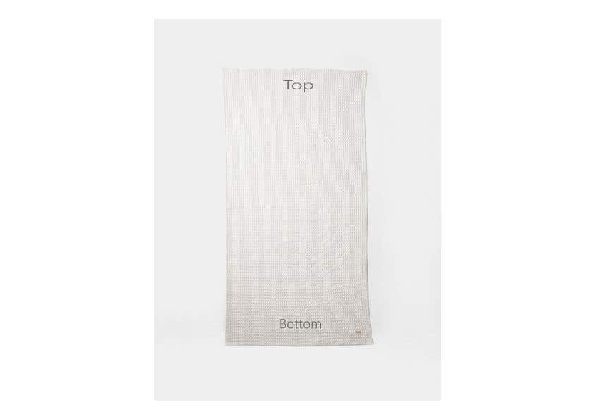 Конкурсная заявка №21 для Design my bath towel