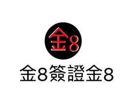 Nro 16 kilpailuun I need a logo designed.as our company is called GOLDEN8VISA & Golden8. I would like it 2 logo designs in Chinese for our Asian market.. The Golden in Chinese must be red or black käyttäjältä ILLUSTRAT