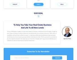 #29 for Redesign a landing/home page by SabbirHosenuiux