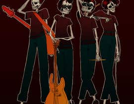 #20 for Logo needed - skeleton band by Woolysaur